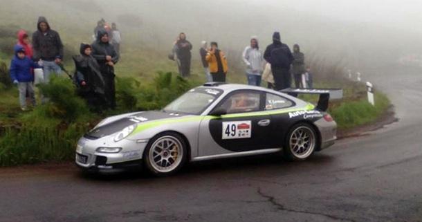 Yeray Lemes Porsche 911 GT3 Subida al Juncalillo