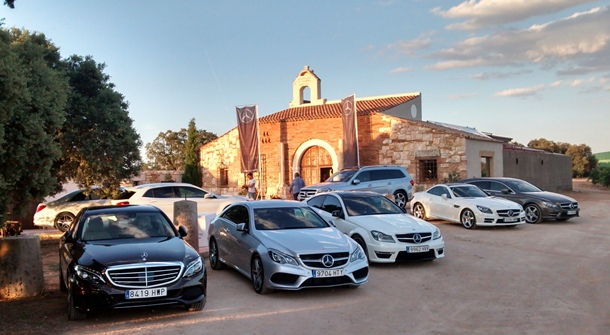 caravana de Dream Cars de Mercedes-Benz