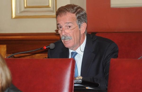 Guillermo Guigou es concejal de Ciudadanos de Santa Cruz. / SERGIO MÉNDEZ