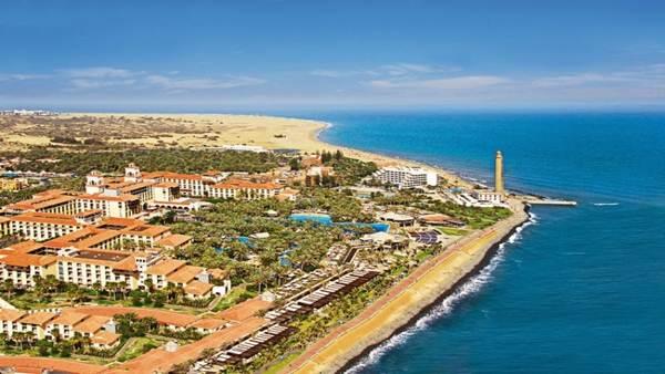 Complejo hotelero en Gran Canaria, la isla donde se ha centrado la polémica por la renovación turística. | EP