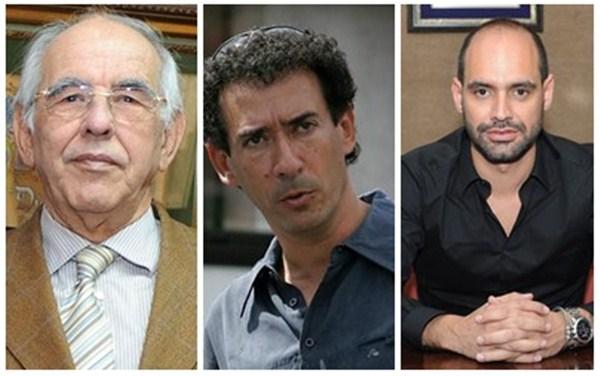 Elías Bacallado, Lucas Fernández, Elías Bacallado Cabrera. / DA