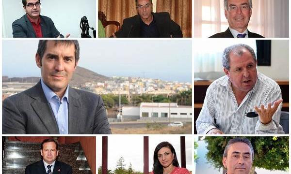 El PSOE tiene imputados en 11 municipios, en 8 CC y en 4 el PP