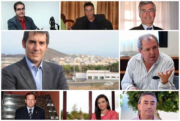 Políticos imputados. | DA