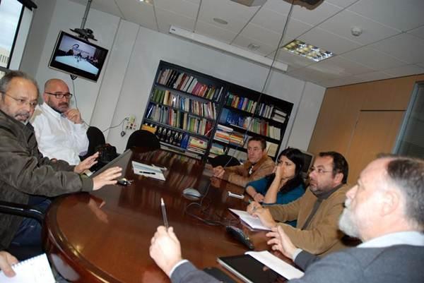 Un momento de la reunión de las universidades. | EP