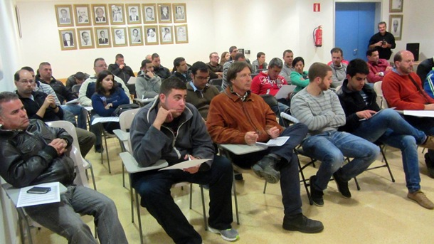 reunion FALP pilotos Gran Canaria