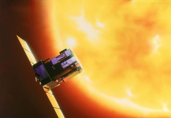 El satélite SoHO. | IAC
