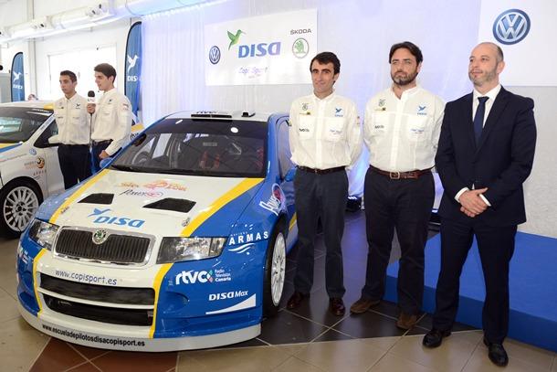 Alfonso Viera retorna con su copiloto Víctor Perez al equipo con el que consiguió tres entorchados regionales. | S. MÉNDEZ