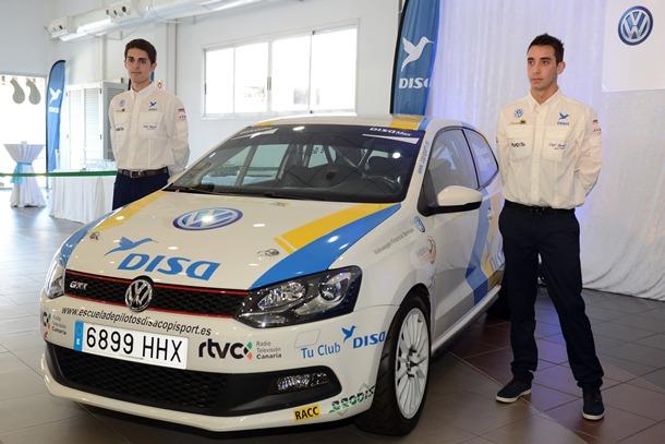 Marcos González correrá en Autonómico con el VW Polo GTI, y además tres pruebas del Mundial de Rallys. | SERGIO MÉNDEZ