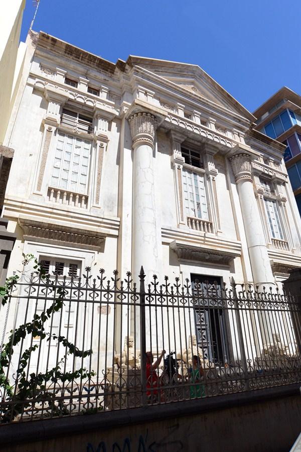 El templo masónico está declarado Bien de Interés Cultural (BIC). / S. M.