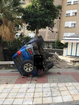 Estado en el que quedó el vehículo. | POLICÍA LOCAL
