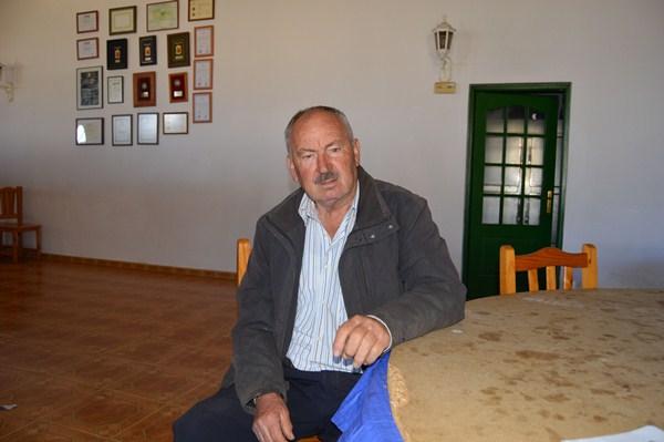 Manuel Marero, en las instalaciones de Cumbres de Abona. / J.L.C.