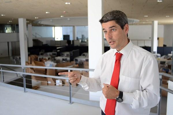 Alberto Bernabé es el concejal de Hacienda de Santa Cruz de Tenerife. / DA