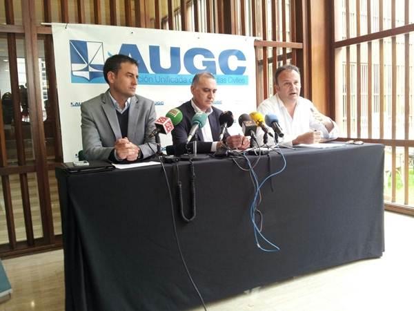 Rueda de prensa de AUGC. | EP