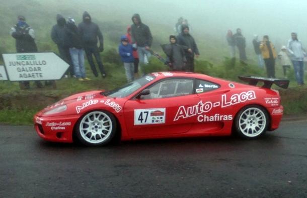 Armide Martin Ferrari 360 Rally Auto Laca Competicion