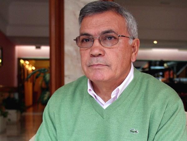 Miguel Velázquez, en la presentación de su velada de homenaje. / DA