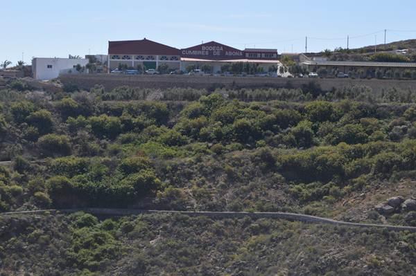 Manuel Marrero afirma que el canal se debería construir a 800 metros de altura sobre el nivel del mar. | J.L.C.