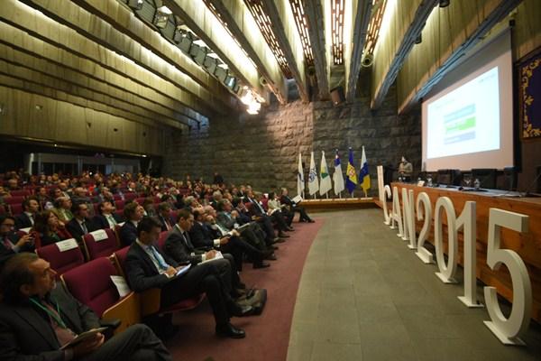 Imagen de la jornada de clausura del la I Cumbre Internacional. / DA