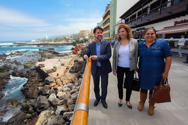 Los nuevos trabajos en San Telmo tienen un coste de 306.000 euros. / DA
