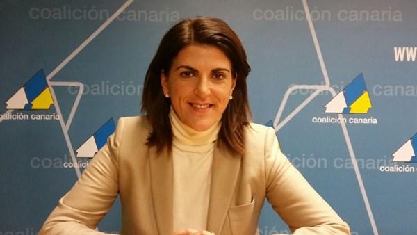 Ana Dorta, candidata de CC a la Alcaldía de Guía de Isora. / DA