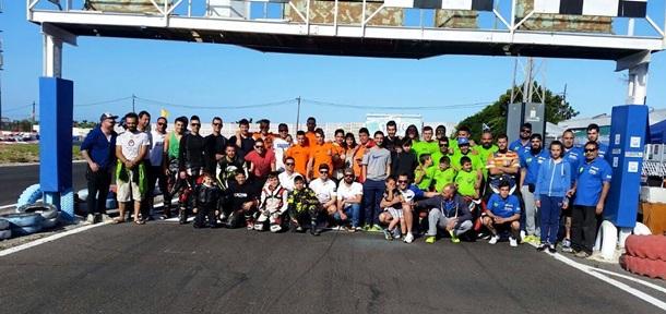 Campeonato Velocidad karting Las Americas