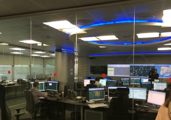 Centro de control de Enegás. | DA