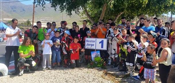 Curva Nestor Jorge karting Las Americas