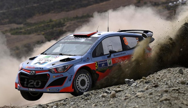 Dani Sordo (Hyundai i20 WRC).