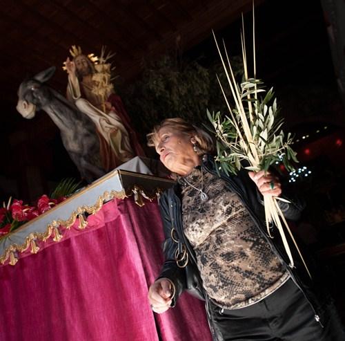Domingo de Ramos en Santa Cruz . / FRAN PALLERO