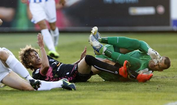 El Leganés derrotó a los insulares en Butarque por 2-0 en la ida. / JOSÉ A. GARCÍA
