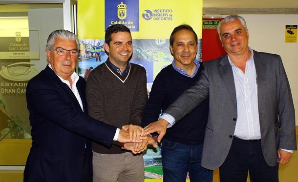 Firma Convenio Cabildo Rally Islas Canarias1