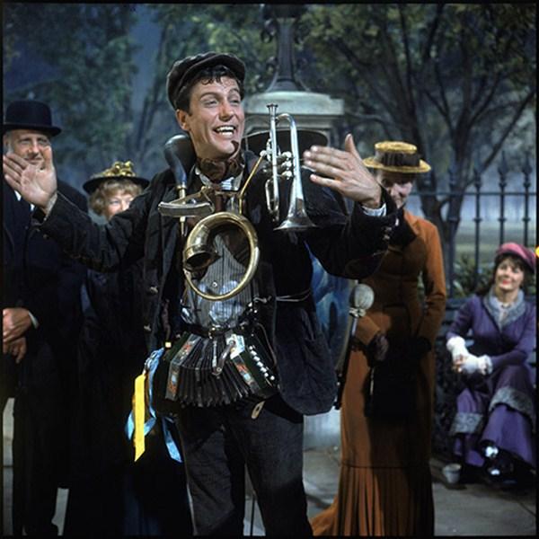 Imagen del inigualable hombre orquesta de Mary Poppins. / DA