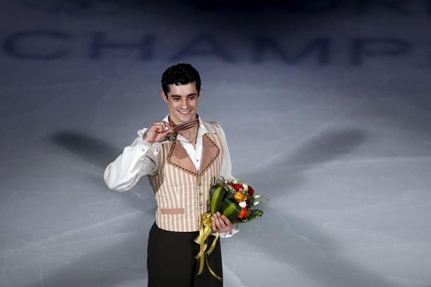 Javier Fernández patinaje artístico