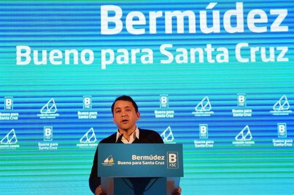 José Manuel Bermúdez durante el acto. | DA