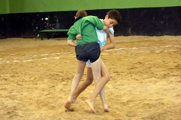 Una luchada entre dos escuelas tinerfeñas. / DA
