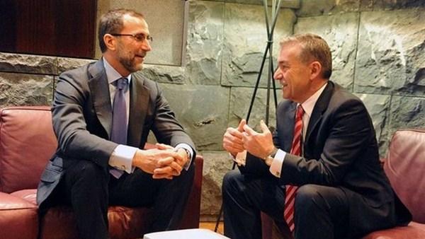 Rivero se reunió recientemente con el embajador de EE.UU. / EP