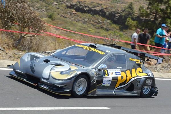 Javier Afonso (Silver Car2), ganador en barquetas. | DA