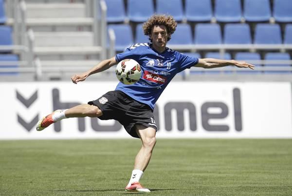 El jugador sudamericano está aportando goles al equipo de Raúl Agné.   S.F.