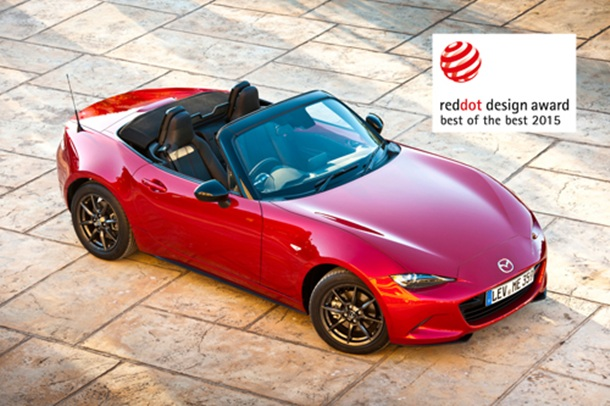 Mazda MX-5 Red Dot Desing