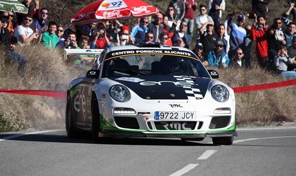 Miguel Fuster Porsche Rally 997 GT3 del 2010