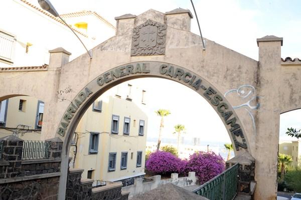 Las 96 viviendas de García Escámez fueron construidas en 1940. / J.G.