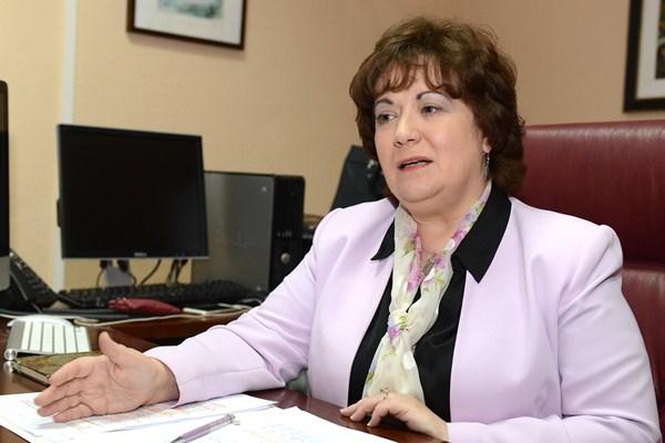 Olga Mar'a Alegre. / SERGIO MÉNDEZ