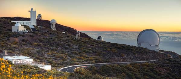 Descubren cinco nuevos asteroides cercanos a la Tierra desde el observatorio de La Palma