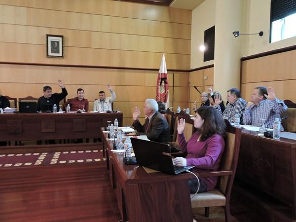 El Grupo Socialista sacó adelante los comprometidos asuntos del personal municipal. / NORCHI