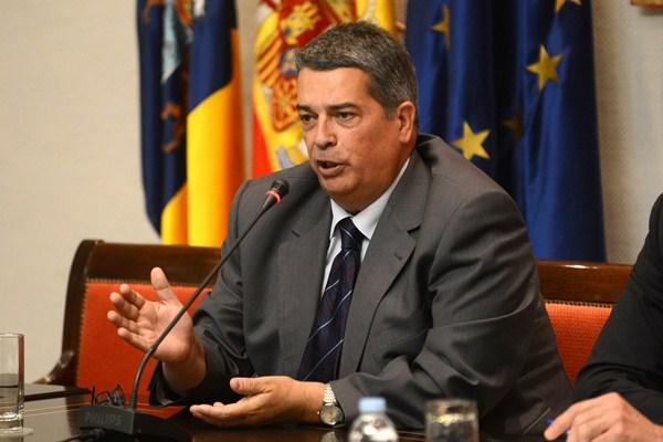 Alberto Padrón, auditor de cuentas. / SERGIO MÉNDEZ