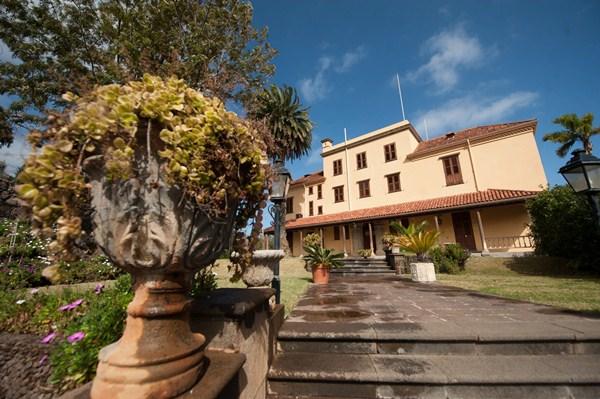 La finca Risco de Oro, construida en 1890, prevé un hotel de 5 estrellas conservando intacta la edificación./ FRAN PALLERO