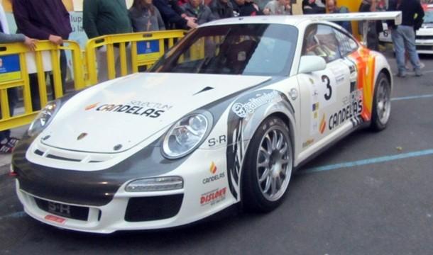 José María Ponce estrenará un Porsche 997 GT3 en el rally Islas Canarias Corte Ingles