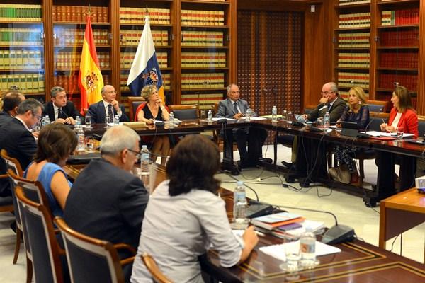 Una sesión de la Comisión de Control de RTVC. / SERGIO MÉNDEZ