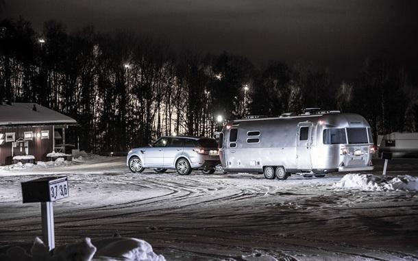 Range Rover Sport Hybrid & Airstream