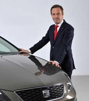 Sébastien Guigues director de Ventas de SEAT España