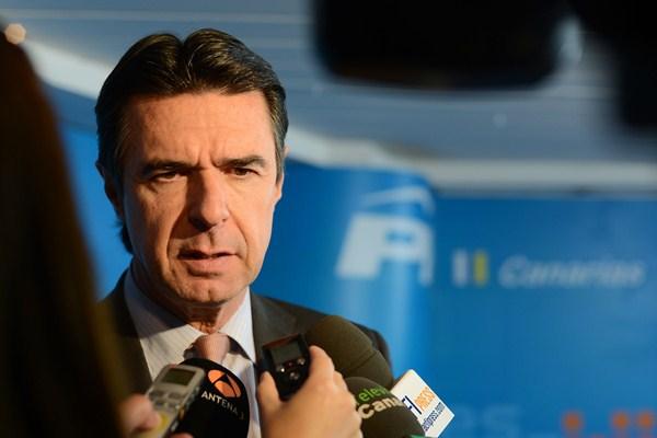 """José Manuel Soria era """"el más relajado"""" en la reunión que el comité ejecutivo regional celebró el viernes. / S. M."""
